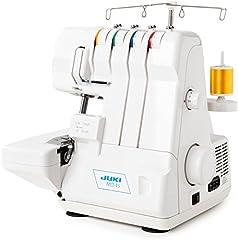 Juki MO-4S Overlock naaimachine met differentieel transport, 3/4 garens / automatische threader / Makkelijk te gebruiken / Snijden en naaien van kwaliteit*