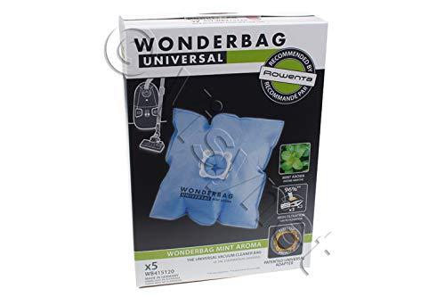 Wonderbag WB415120 Sacs aspirateur Wonderbag Fresh Line x 5 à la menthe fraiche