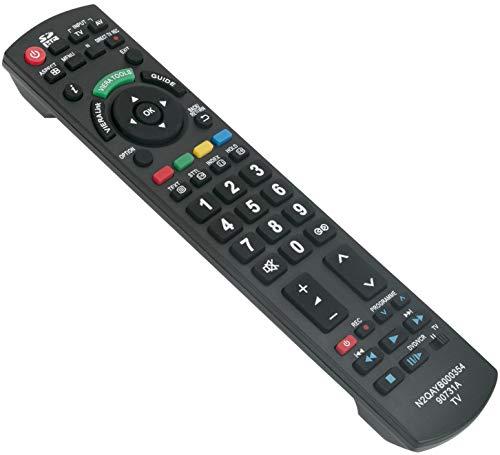 ALLIMITY N2QAYB000354 Fernbedienung Ersetzt für Panasonic Viera LCD LED TV TX-L32G10E TX-L37G10E TX-L37GF12 TX-L37GW10 TX-LF32G10 TX-P42G10E TX-P42GW10 TX-P46G10E TX-P46GW10 TX-P50G10E TX-P50G10L