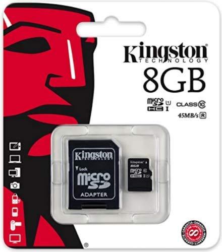 Micro Sd Card 8GB Kingston HC Classe 4