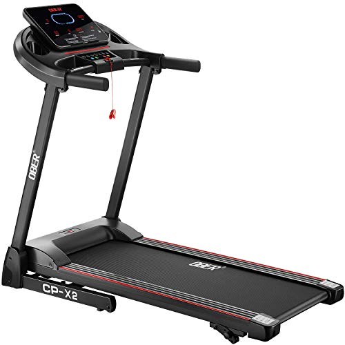 Ober Folding Treadmills for Home with Incline, Portable Electric Treadmills for Small Spaces, Foldable Treadmills for Jogging Walking Running