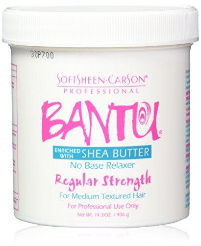 Bantu Shea Butter No Base Relaxer Regular Strength 14.3 Oz