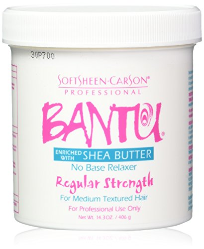 Bantu Shea Butter No Base Relaxer Regular Strength 14.3 Oz