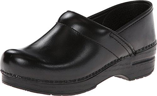 Dansko Women's Professional Black Cabrio Clog 4.5-5 Narrow...