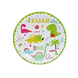 Hiikk Dinosauro Articoli per la tavola Decorazioni per Feste di Compleanno Piatti per Bambini Tazze Cappelli Tovaglia Palloncino Bandiera Forniture per Feste in Paglia