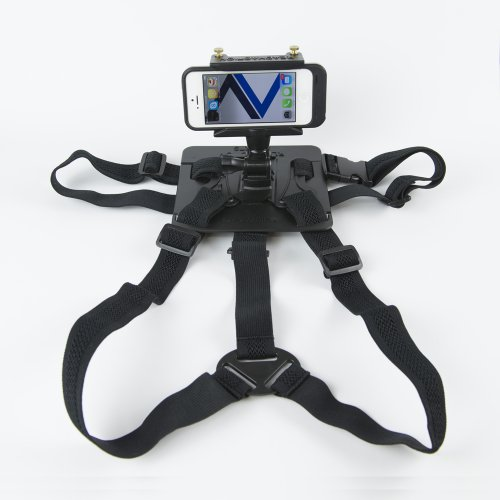 READYACTION Sport -Smartphone/Camera Chest Harness -Ships w/Free Bike Mount