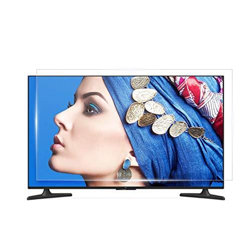 AWSAD Protector de Pantalla de TV antirreflejo, Filtro de luz Azul para Pantalla de TV de 32-75 Pulgadas, sin Huellas Dactilares, protección para los Ojos
