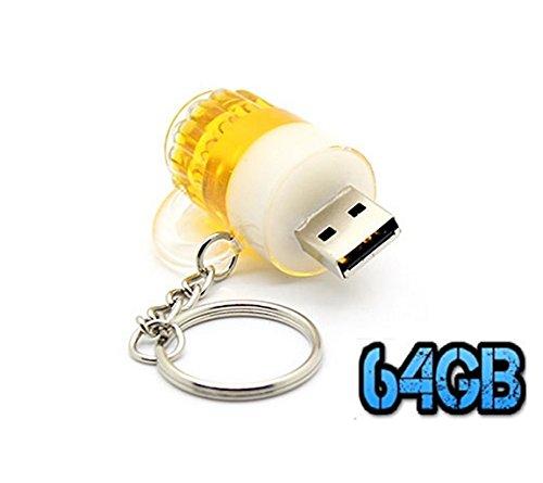 UK A2Z ® Cartoon boccale di birra 64GB USB Flash Drive/pendrive/Udisk