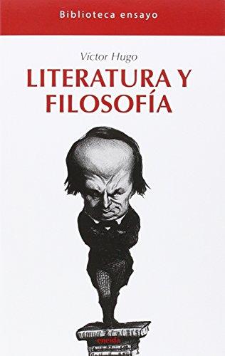Literatura y filosofía (Biblioteca ensayo)