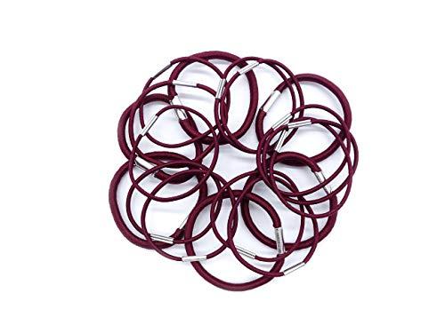pak van 18 elastieken in bordeaux
