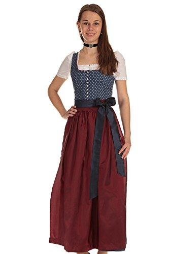 Turi Landhausmode Damen Dirndl lang D811089 Laurita 9425 95cm
