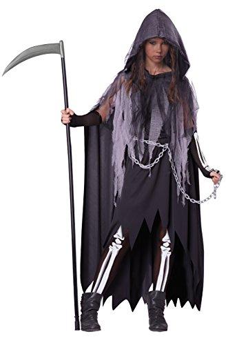 California Costumes Miss Reaper Tween Costume, X-Large