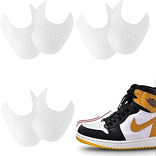 U/D Hormas para zapatos, 4 Pares Escudos de Zapatos para Hombre Prevendedores de Pliegues Abolladura de Zapatillas de Deporte Zapatos 40-46 EU, Protector para Contra Las Arrugas de Los Zapatos