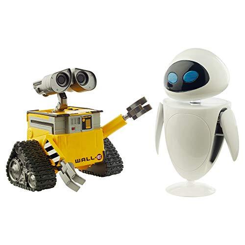Mattel- Disney Pixar Wall-E y EVE, figuras de acción regalos (GLX86) , color/modelo surtido