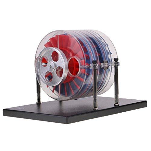 HomeDecTime Einstufige Dampfturbine - Mehrstufige