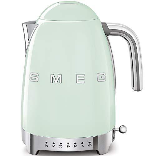Smeg KLF04PGEU Wasserkocher, Steel, 7 liters, pastellgrün