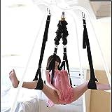 Shaobijiang Excluding Heavy Duty Frame Àdǚlt Toys 360 Spinning ŠêX Šwìvèl Šwíng for Couples Síx Play Adjustable Ropes Woman and Man Indoor Yoga Shaobijiang