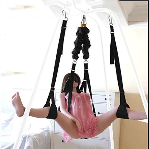 Yrrddxxoo Àdılt Toys 360 drehbare Spielzeuge für Paare, Spielen mit robustem Rahmen, verstellbare Seile, für Damen und Herren, Indoor-Yoga, Yrrddxxoo