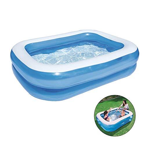 Opblaasbaar Zwembad Voor Huishoudelijk Gebruik, Voor Kinderen Opblaasbare Zwembaden Met Uitlaat En Opblaasbare Double Air Valve