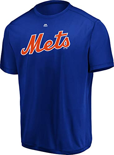 Majestic Adult XL Licensed Replica Jersey with New York Mets Royal Blue