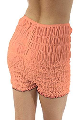 Malco Modes Adult Pettipants, Style N29, Woman Costume Shorts, Sexy Ruffle Panties, Lacey Dance Shorts, Boyshorts
