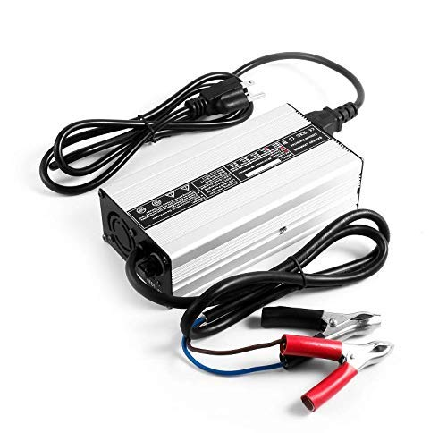 Ampere Time 14.6V 20A, Intelligent AC-DC Battery Charger, Best Solution for 12 V Lithium Iron Phosphate, LiFePO4 Battery Recharging, Support Fast Charging
