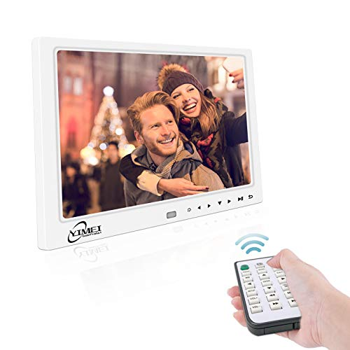 Digital Picture Frame with 12.1 Inch 1280x800 HD Display, Digital Photo Frame for Multimedia, Support Video/MP3/JPEG/TXT, Remote Control, USB/SD Card