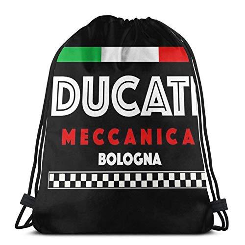 Ducati Mecanica Sport - Bolsa de deporte con cordón