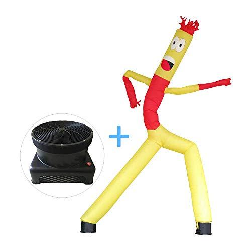 WCY 18inch aufblasbare Tube Man Sky Puppet Tänzer, 20-Fuß-Tänzer Air Komplett-Set mit 1 PS Low Noise Lüfter, bei Veranstaltungen gebraucht, oder Versammlungen yqaae (Size : 16.5ft/5m)