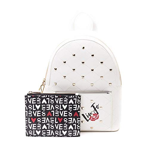 LIU JO BACKPACK BAG N19076E0010 01065 OFF WHITE