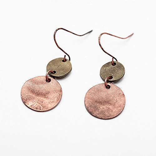 BLINGBRY oorbellen met haken, natuursteen, geometrisch, etnisch, voor vrouwen Bohemia Beads Statement Drop Dangle Earring Boho Jewelry