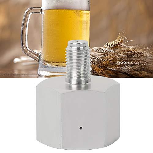 Adaptador de cilindro, hecho de aleación de zinc, adaptador de recambio de cilindros de cilindro de cilindro de soda