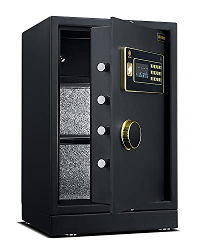AIFEIBAO Digital Security Safe Box Alloy Steel Construction Large Safe for Home Office Hotel 2.05 Cubic Feet