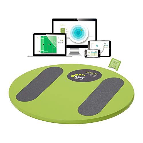 MFT FIT DISC 2.0 I Smartes e Balance Board mit Fitness App I Via Bluetooth verbinden I Digitale Fitnesstrainer APP und BalanceBoard Fit Disc 2.0