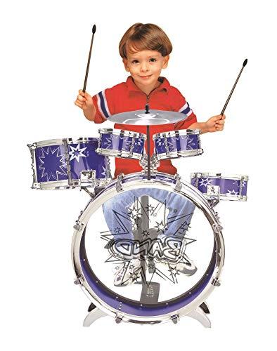 SOKA® Big Band Children's Rockstar Drums & Cymbal Kit With Stool –...