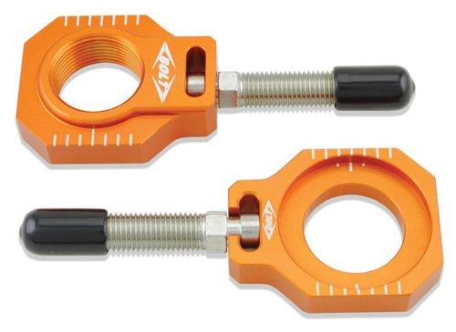 Bolt Motorcycle Hardware (CHAD-KTM2.OR) Orange Chain Adjuster Block
