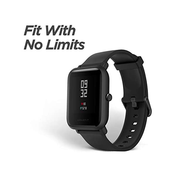 Amazfit BIP Lite Smart Watch- Blue (UP to 45 Days Battery Life_3 ATM) 3