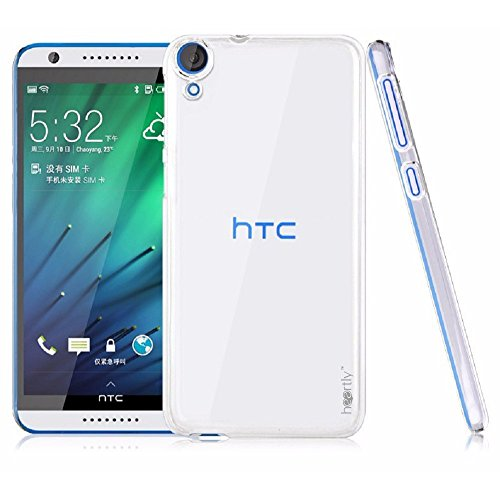 Heartly Transparent Clear Crystal Hot Thin Hard Back Case Cover for HTC Desire 820/820S/820Q/820G+ - Crystal View