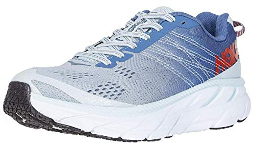 HOKA ONE ONE Clifton 6 Women's Running Shoes Plein Air/Moonlight Blue - 8