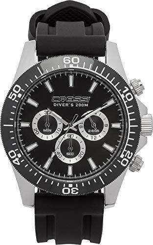 Cressi Nereus Watch - Unisex Erwachsene Watch Professionelle Taucheruhren, Einheitsgröße
