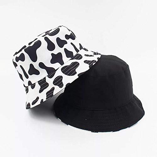 Sombrero Pescador Gorras Hombre Mujer Bonito Sombrero De Cubo, Protector Solar, Sombrero De Pescador, Panam, Sombreros para El Sol, Mujeres, Hombres, Hip Hop, Sombrero-Cow_Print
