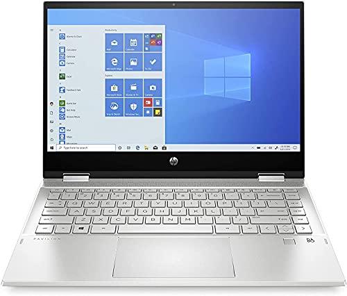 "HP Pavilion X360 14-dw1023ns - Ordenador portátil convertible de 14"" FullHD Táctil (Intel Core i7-1165G7, 8GB de RAM, 512GB SSD, Intel Iris Xe, Windows 10 ) Plata - teclado QWERTY Español"
