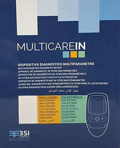 MULTICARE Cholesterol and Triglycerides Home Test Meter Kit Monitor. CE Approved!
