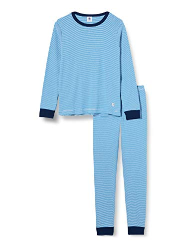 Petit Bateau 5606601 Schlafanzug, Motiv Milleraies, Blau Gr. 6 Jahre,...