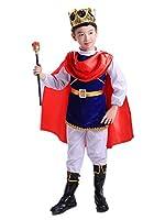TACO(タコ)ハロウィン コスチューム 王子 国王 プリンス キング 仮装 コスプレ 子供 ボーイズ 男の子 Prince04-XL