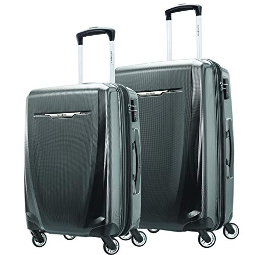 Samsonite Winfield 3 DLX Hardside Expandable Luggage with Spinners, Graphite Grey