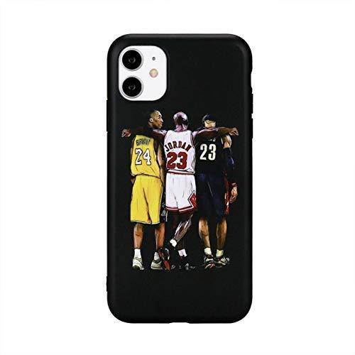 Goats Kobe Lebron Jordan Handyhülle mit Vollschutz Soft Grip Premium Silikon TPU Fashion Designer Cover Kompatibel mit iPhone 11 Pro Hülle
