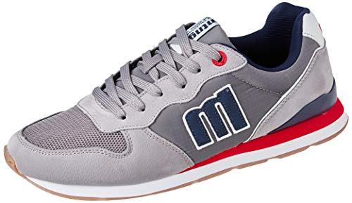 MUSTANG - Zapato Deportivo Casual, con cordón, Suela de Goma, para: Hombre Color: Gris Talla:46
