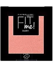 Maybelline New York Fit Me Blush Colorete en Polvo Mate, para Todo Tipo de Pieles, Tono 25 Pink