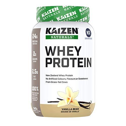 Kaizen Naturals Whey Protein, Vanilla Bean, 840 g